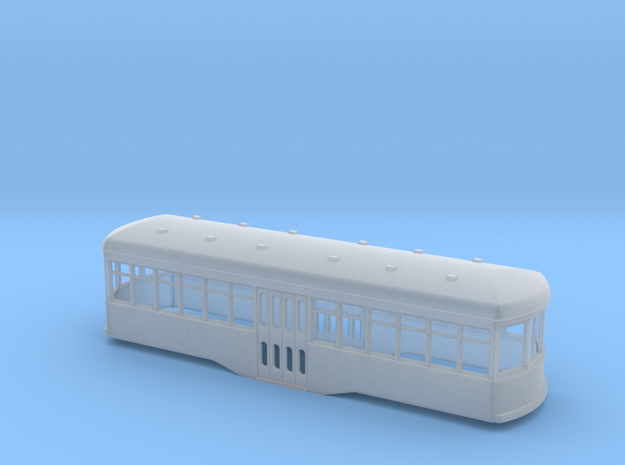 N scale Short trolley centre entrance 3d printed