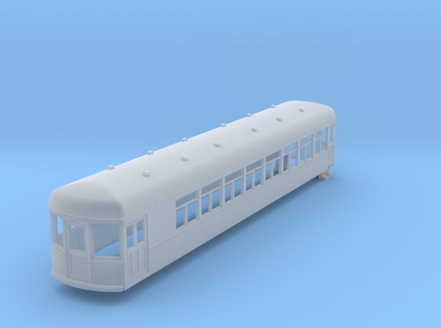 N gauge 55ft interurban combine arch roof 3d printed