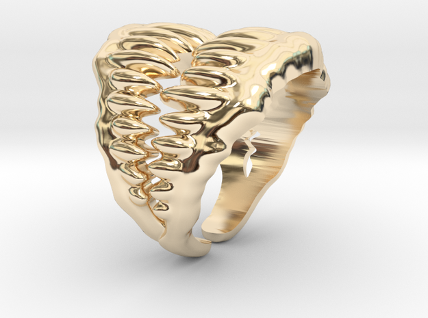 Jaw Ring Size 9 3d printed