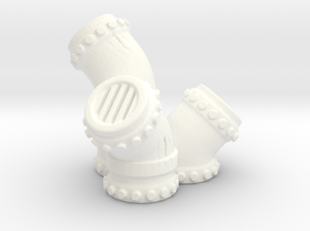 Pipe cluster 3d printed