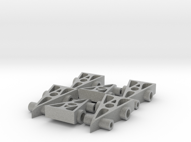 6 F1 Car Game Pieces 3d printed