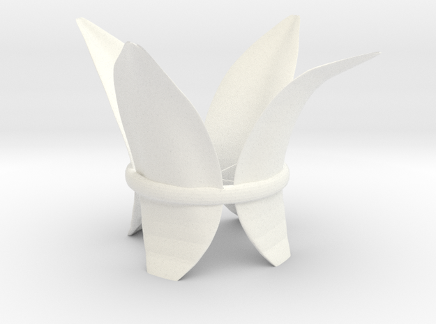 LillyLeaf Tealight Holder 3d printed