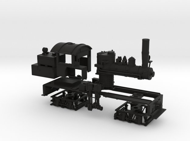 HO Scale Mich Cal Shay 3d printed