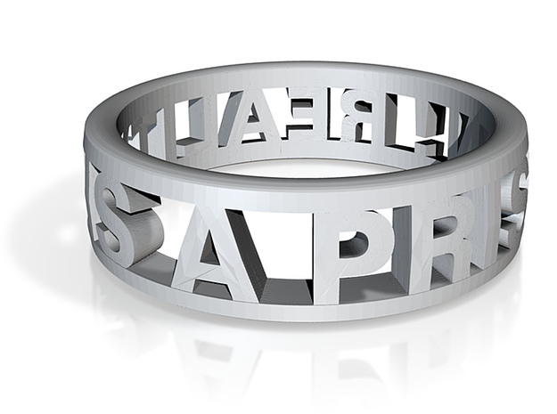 Reality Ring (various sizes) 3d printed