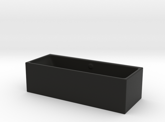 1:39 Scale Model - Bath Tub 02 3d printed