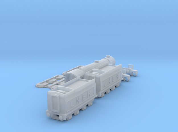Flying Scotsman T-Gauge Version 3 - Uses Eishindo 3d printed