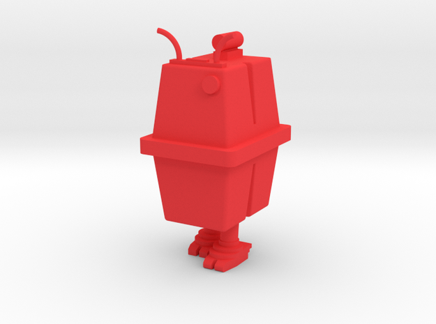 1/48 O Scale Box Robot 2 3d printed