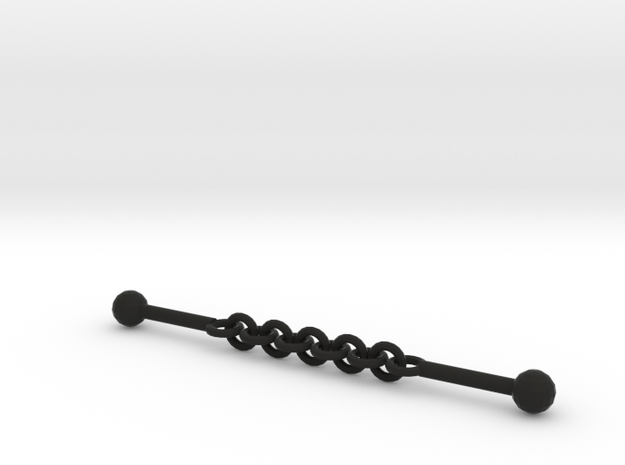 Nunchuck Ball & Chain 3d printed