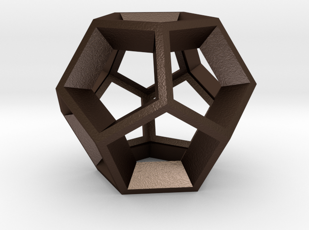 Dodecahedron - Pendant 3d printed