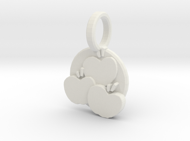 Delicious Pendant 3d printed