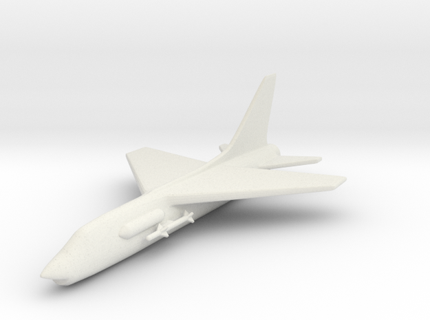 1/285 Scale (6mm) F-8 Crusader 3d printed