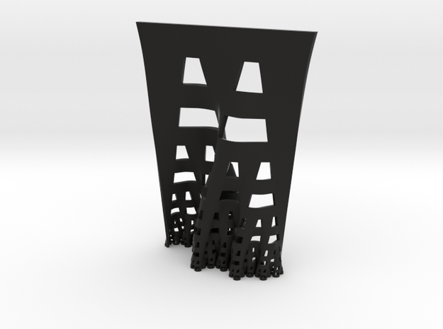 Developing terdragon curve 3d printed