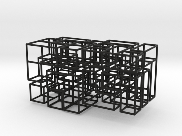 """SOMA's Revenge"" - Interlocking Puzzle Cube 3d printed"