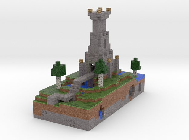 Tiny Tower via Mineways! 3d printed