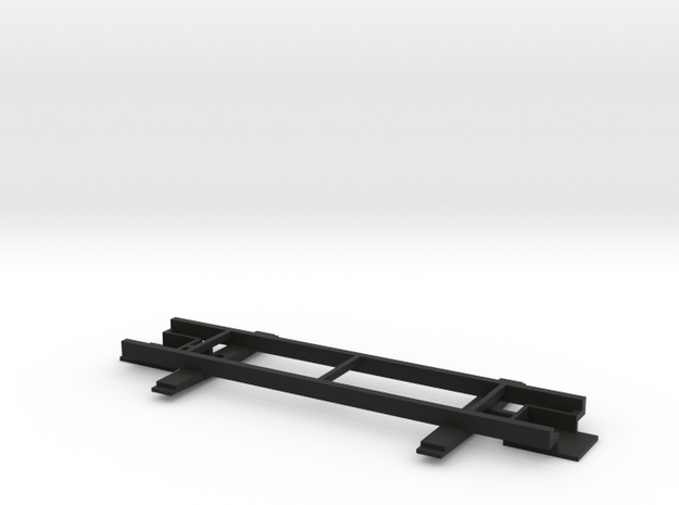 On30 14ft 2-truck underframe 3d printed
