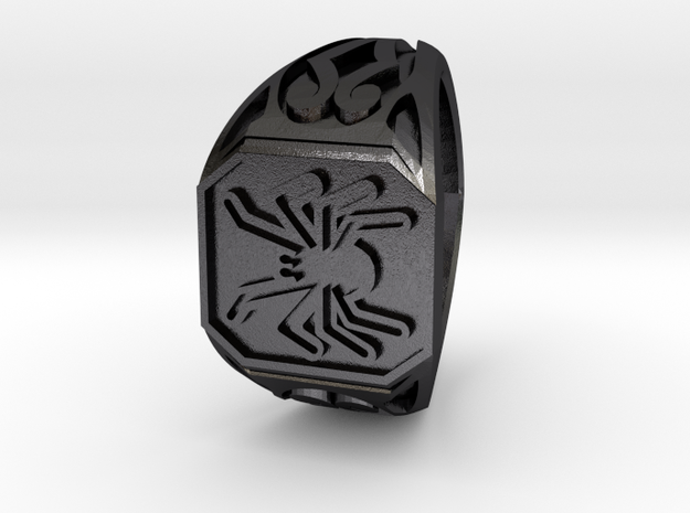 Spider Ring Size 7 3d printed