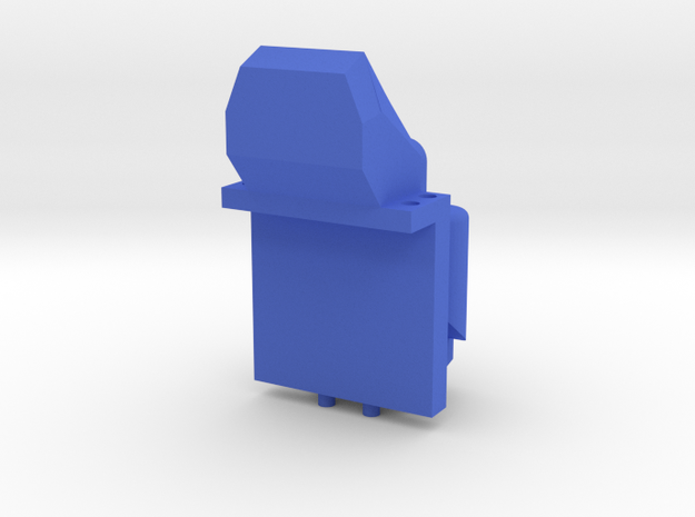 the beast 1/32 Mouth piece blue alpha 3d printed