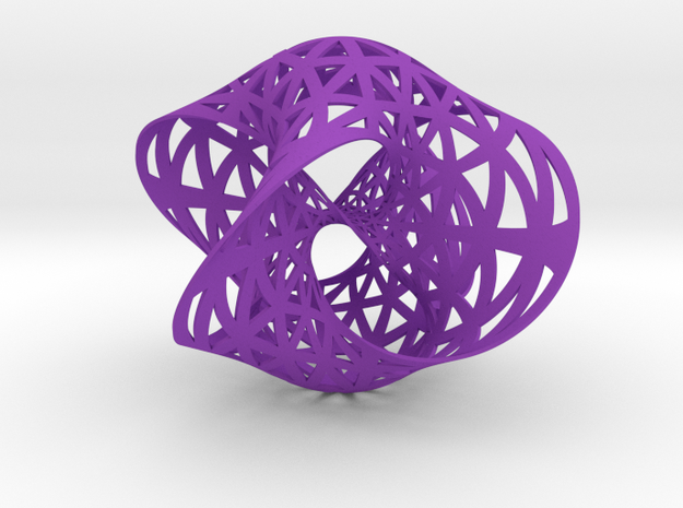 Seifert surface for (4,3) torus knot 3d printed