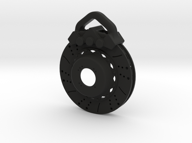 Disc brake keychain 3d printed