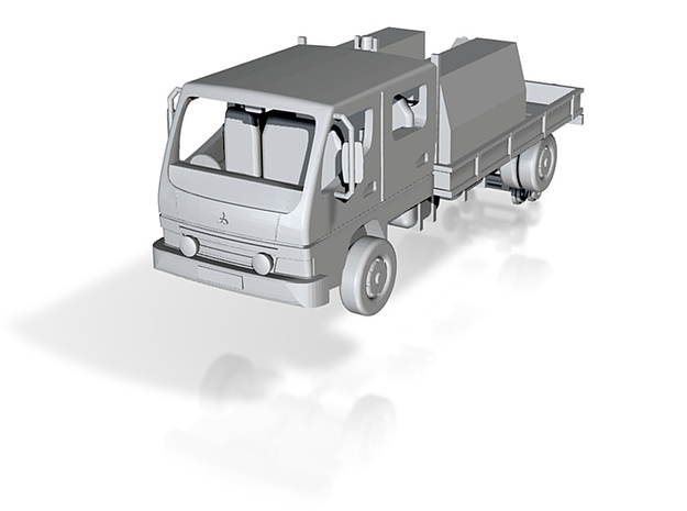 Typical New Zealand highrail truck 3d printed