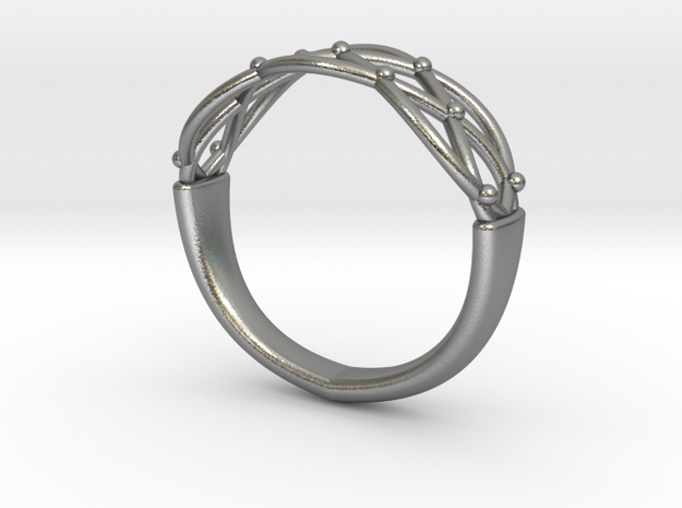 Celtic Weave Ring 3d printed