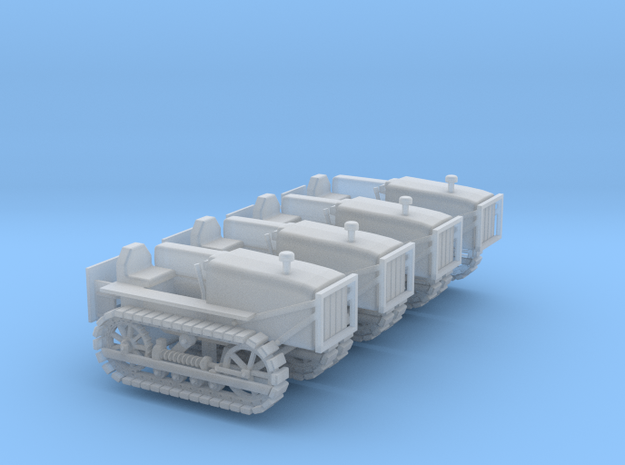 Caterpillar D4 Set - Zscale 3d printed