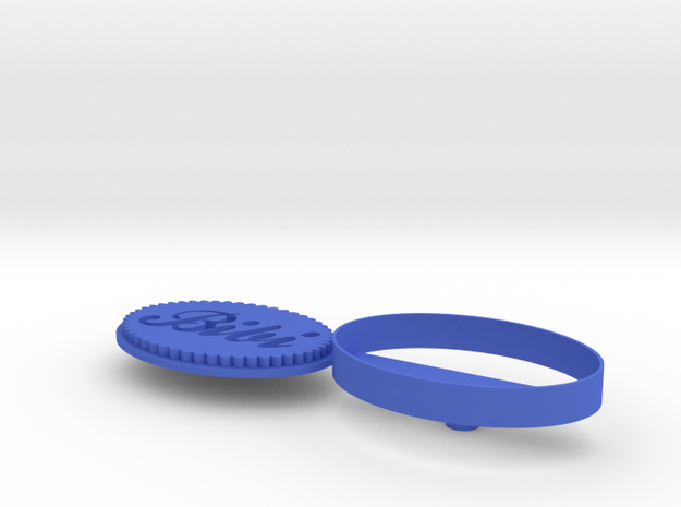 Cookie cutter with your name 3d printed