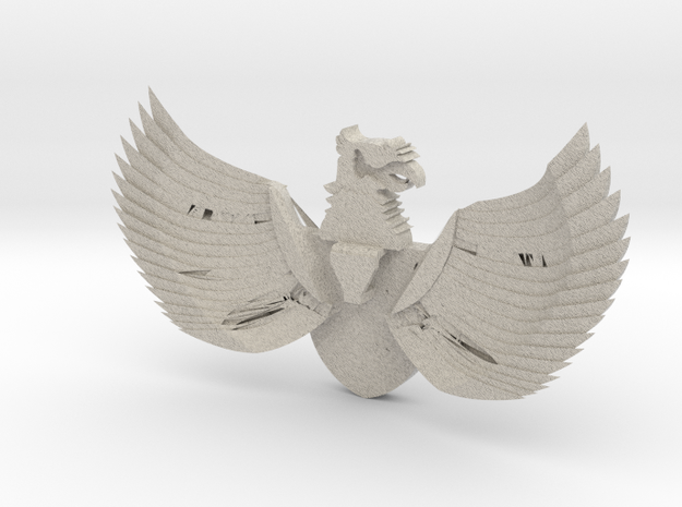 Indonesia Pendant Broche necklace 3d printed
