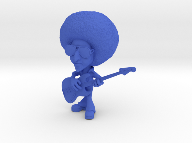 Funky Bass Player 3d printed