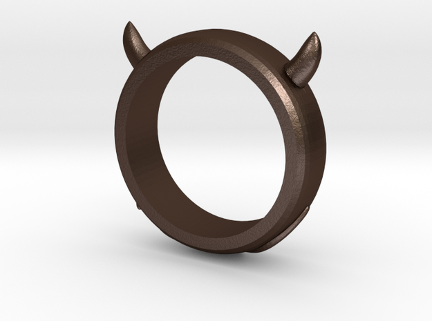 Devilish Ring - Size 12 3d printed