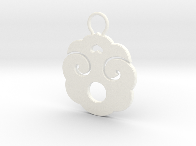 """Choban"" Japanese single ornament 3d printed"