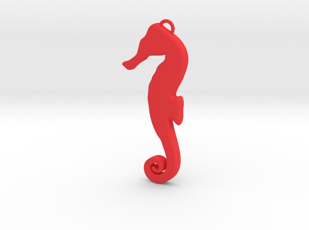 Seahorse Silhouette 3d printed