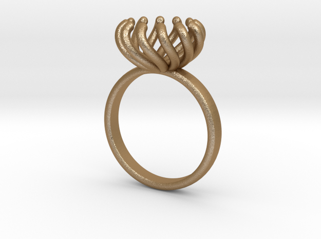 Magnetic Pearl Ring Size 8 3d printed
