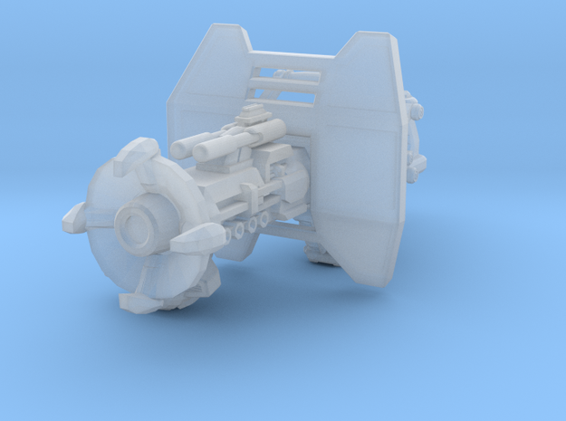 advanced infrasonic cannon 001a carried with shiel 3d printed