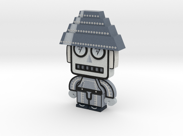 DevoBot Series 1 B/W - no glasses 3d printed