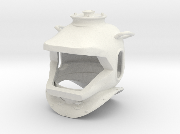 nautilus helmet no light 3d printed
