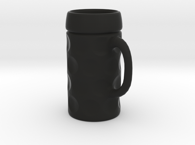 German Traditional Beer Stein (1:4) keychain 3d printed