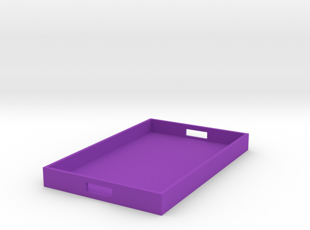 Rectangle Tray Large 1:12 scale 3d printed