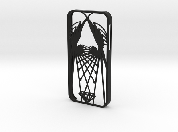 wings iphone 5 case 3d printed