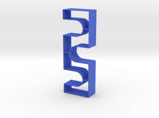Repeat 1:12 scale Bookshelf 3d printed