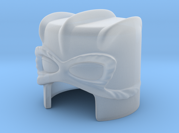 Stratos' helmet for Minimate (high detail) 3d printed