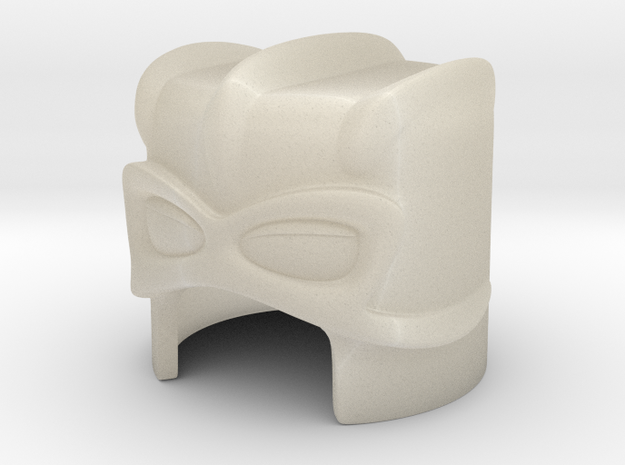 Stratos' helmet for Minimate (low detail) 3d printed