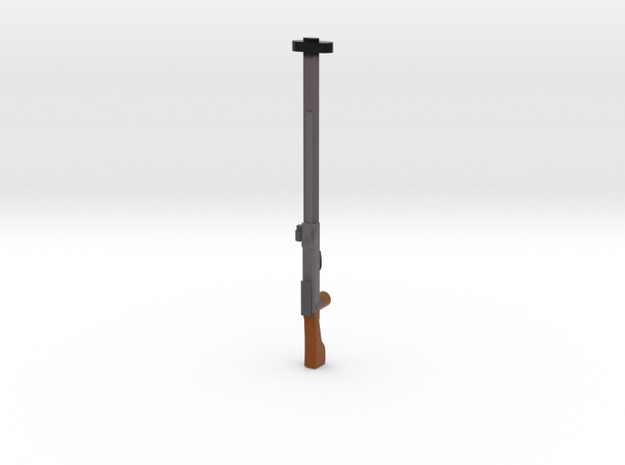 PTRS 1941 WWII russian gun for LEGO already painte 3d printed