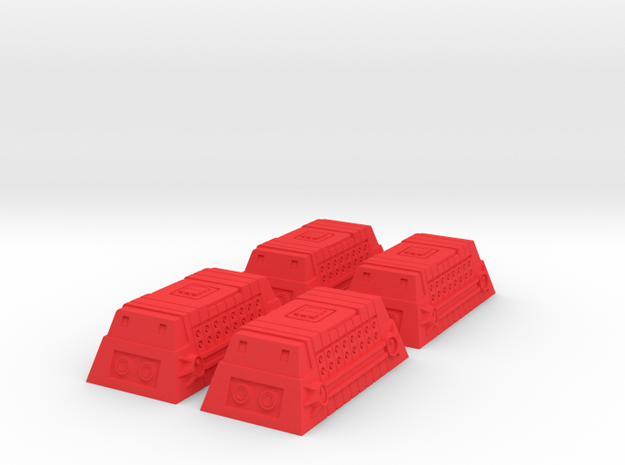 4x Class-A Cargo Container 3d printed