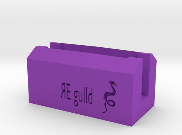 RE Guild D&D Player Card Holder 3d printed