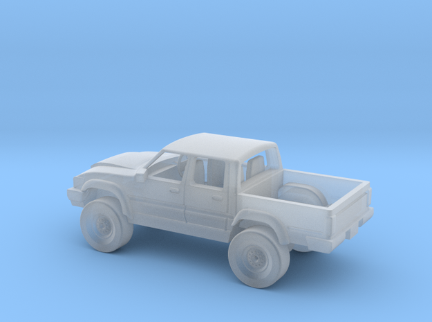 Toyota 1:120 (remodelled) 3d printed