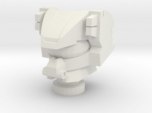 Cyberverse Roadbuster head 3d printed