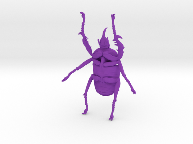 Giant Beetle - Goliath 7cm - Scarab 3d printed