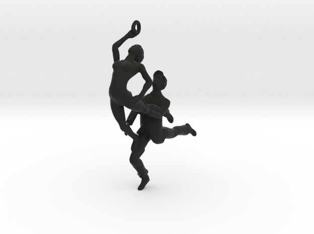 Dance LOVE Pendant-Earring 3d printed Romance dance