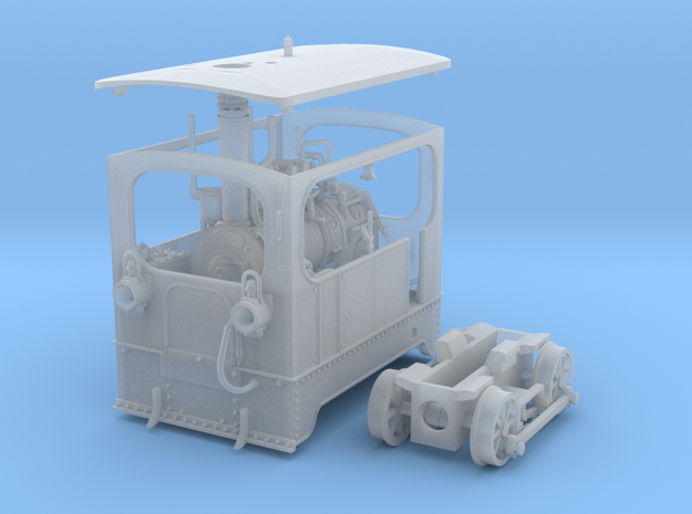 1:45 Tramway loco (complete) Backer & Rueb 3d printed